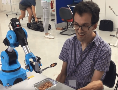 Feedbot, a symbiotic robotic arm for meal assistance